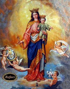 reina y madre del cielo
